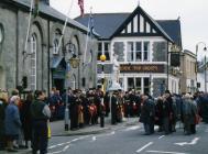 Remembrance Sunday, Cowbridge ca 2000