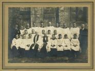 Holy Cross, Cowbridge choir 1940s