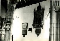 Holy Cross, Cowbridge, Carne memorial