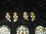 Holy Cross, Cowbridge, war windows