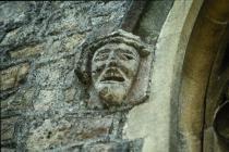 Holy Cross, Cowbridge stone detail 1991