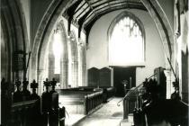 Holy Cross church, Cowbridge interior
