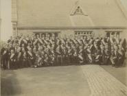 David Tilley with a ? masonic group 1910