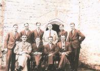 Holy Cross, Cowbridge, group ca 1930