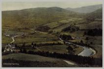 Cwmystwyth Village