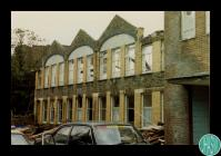 Photograph of the Isaac Samuel Hall at the rear...