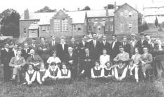 Llandysul County School Senior Students, 1927