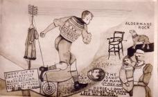 Cerdyn Post Cstell-nedd, C R Trueman 1912
