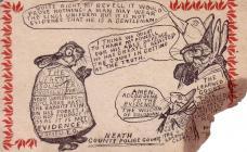 Cerdyn Post Heddlu Castell-nedd, C R Trueman