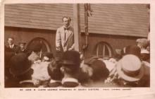 Cerdyn Post David Lloyd George yn Seven Sisters