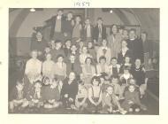Ysgol Sul Eglwys Dewi Sant Margam 1957