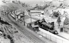 Abergwynfi Station BR July 1963