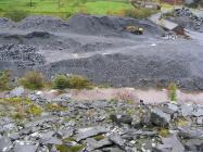 Aberllefenni slate quarry 2009