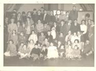 Christmas Party at Margam Community Centre 1956