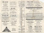 Cross Keys v Aberavon 1967 Match Programme