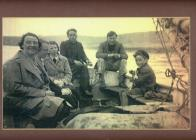 The family boat off Amlwch