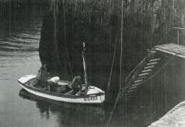 Men working on the boat