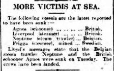 MORE VICTIMS AT SEA.