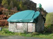 Bell house quarry office at Aberllefenni slate...