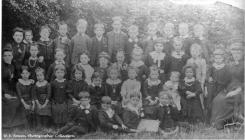 Cwmgwrach school photo's