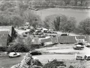 Quarry mill complex, Rhiwgreiddyn quarry,...