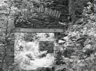Main slate mill shed, Abercorris / Cwmodyn...