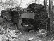 Blacksmith's forge at the mill, Abercorris...