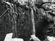 Stream behind Graigfachddu cottages