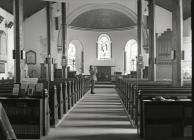 Inside Dolgellau church