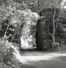 Pont Tramffordd ger Pentir