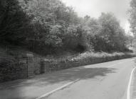 Llwybr yr A487 i