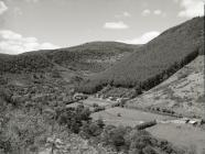 Looking across Corris valley
