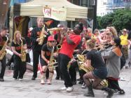 Wonderbrass at Cardiff Carnival, 2012