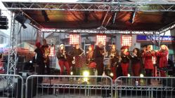 Wonderbrass at Penarth Christmas Carnival 20.11.16