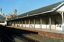 Aberystwyth Train Station North Plateform