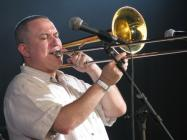 Wonderbrass playing at Brecon Jazz Festival, 2008