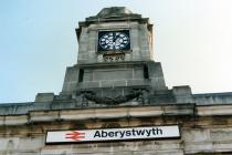 British Rail Aberystwyth Train Station