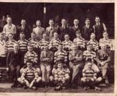Clwb Rygbi Llansawel 1930-31