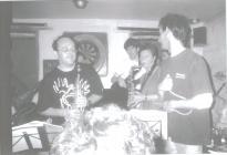 Wonderbrass at the Druidstone 1998