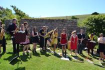 Wonderbrass at Druidstone Jamboree, 2014