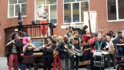 Wonderbrass at Hub Festival 2015