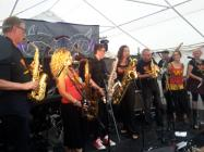 Wonderbrass at Hub Festival 2016