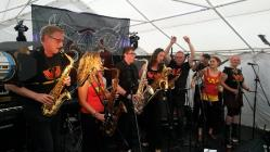 Wonderbrass at Cardiff's HUB Festival