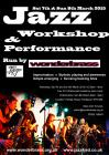 An ad for Wonder-workshops funded by Jazz 4 Jed