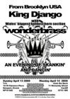 Wonderbrass and King Django project poster, 2008