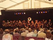 Wonderbrass at Brecon jazz 2007