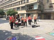 Busking in Stuttgart