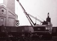 Crane in Woodham Brothers Scrap Yard