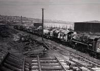 Steam Engines in Scrap Yard