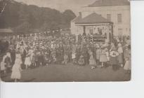 Vernon House Gala in the grounds 1921